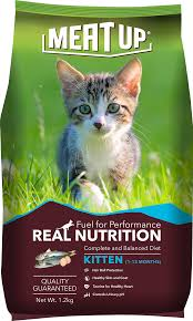 meat up cat food