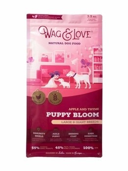 wag and love dog food