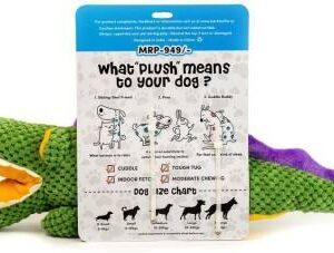 Barkbutler Ally the Gator –  Soft dog toy