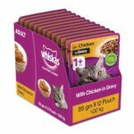 Whiskas  Chicken in Gravy Adult Wet Cat Food