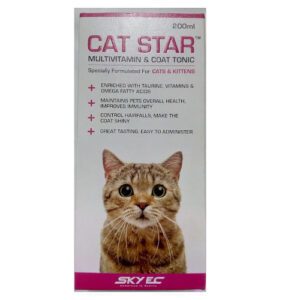 SkyEC Cat Star Multivitamin and Coat Tonic