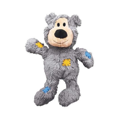 kong bear squeaky toy