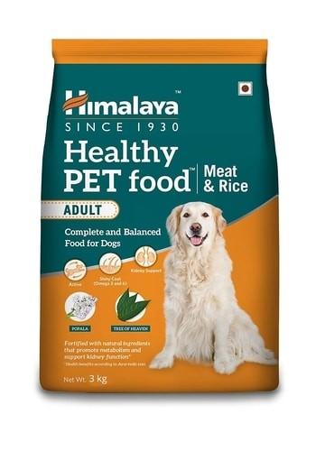 himalaya health dog food