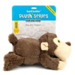 Bark Butler Soft Dog Toy – Plush Bear Squeaky Toy